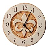 Fleur di lis French Wall clock For Sale