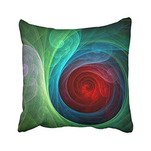 Emvency Square 20x20 Inches Decorative Pillowcases art red s