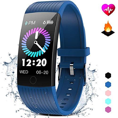 GOKOO Fitness Tracker HR Activity Tracker Watch with Heart Rate Monitor Blood Pressure Sleep Monitor Waterproof Smart…