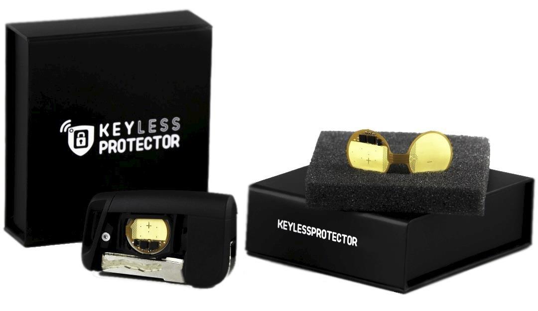 Keyless Protector– Revolutionary New Technology For Relay Attack  Prevention, Keyless Car Key Signal Blocker, Keyless Entry Fob Protector,  Automated