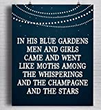 F. Scott Fitzgerald Quote Print,