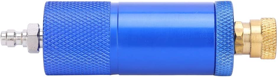 GAESHOW Oil‑Water Separator Filter for 30MPA 40MPA 4500psi Air Compressor with 8mm Female Connector Straight Male Connector Filter Replacement