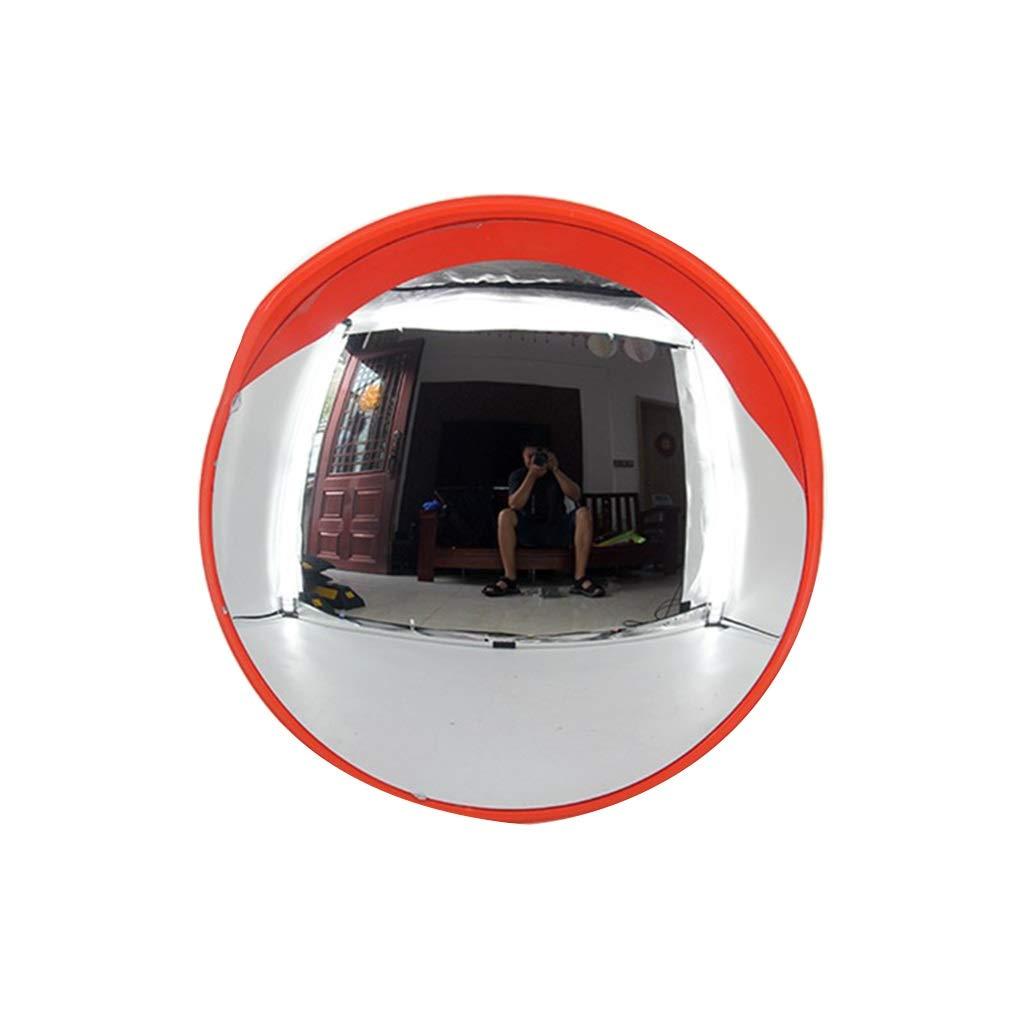 安全ミラー 安全ミラー 丸型 プロ 全天候 安全確保 駐車しやすくなります 不明なガレージに最適 (Size : B120cm) B120cm  B07S2R5K63
