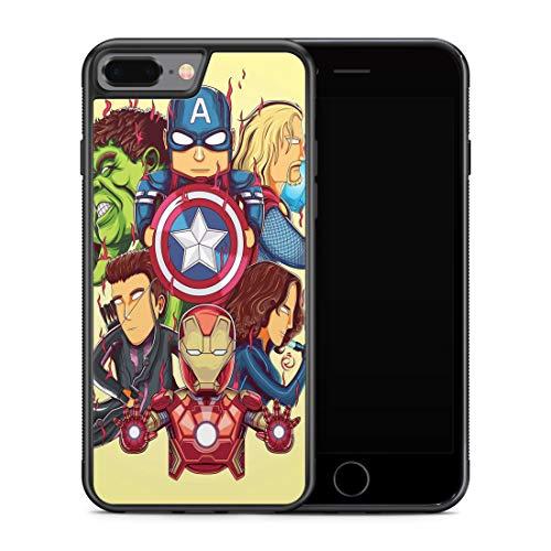 Inspired by Black Widow Avengers iPhone X XR 7 plus 8 plus Xs Max iPhone Xs Case Comics Natasha Romanoff Superhero M207
