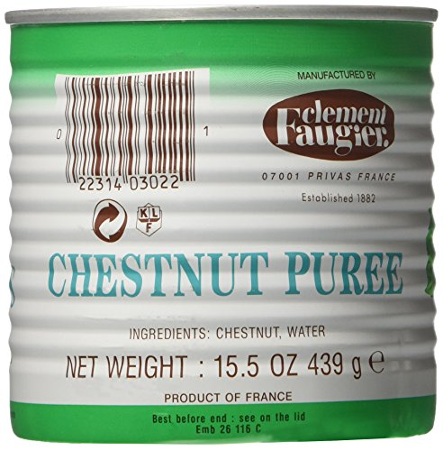 Clement Faugier Chestnut Puree from Ardeche - 15.5 oz.