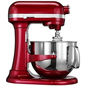 Kitchenaid Professional 600 Stand Mixer 6 quart, Candy Apple (Certified Refurbished)