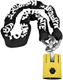 Kryptonite New York Legend Chain 1515 - 5 Ft./Black/White/Yellow