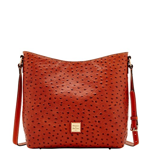 amp; Dooney Shoulder Ostrich Bag Crossbody Hobo Bourke 8dwOxrqd