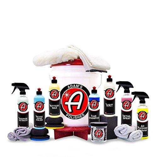 Adam's Essentials Complete Professional Car Detailing Kit