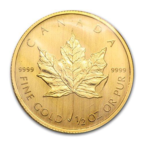 2009 CA Canada 1/2 oz Gold Maple Leaf BU 1/2 OZ Brilliant Uncirculated