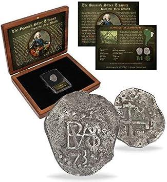 IMPACTO COLECCIONABLES Monedas Antiguas - Las Antiguas Colonias Españolas (acuñada Entre 1.700 y 1746): Amazon.es: Juguetes y juegos