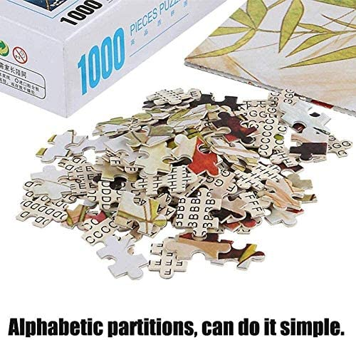 ZLL Adult Puzzel 1000 stukjes houten puzzel Tomaat for tieners en volwassenen, Very Good Educatief spel for kinderen Educatief speelgoed Vr3NgJqq