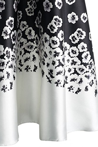 Red-Dot-Boutique-8826-Plus-Size-Floral-Blossoming-Colorblock-Monochrome-Print-Long-Skirt