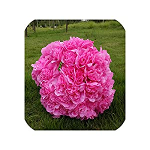 Pink-star 36Head/Bunch Roses Artificial Flower Silk Rose Decorative Flowers Home Decorations for Wedding Valentine's Day Supplies 39