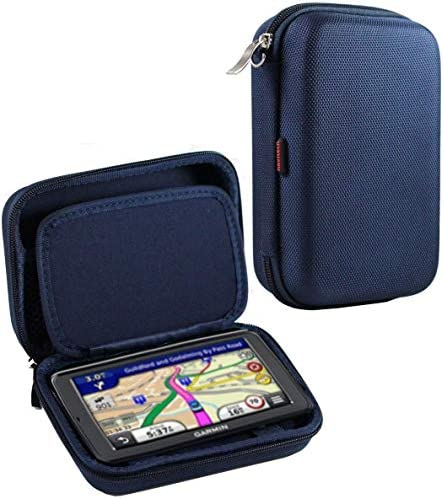 Navitech Dark Blue Hard Carry Case CompatibleThe Tomtom Rider 550