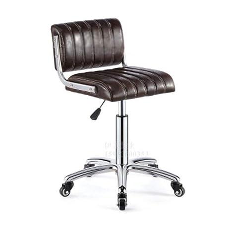 Amazon.com: Silla de bar NAN Liang, silla giratoria de 360 ...