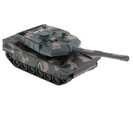 B Blesiya 1:43 Maqueta de Tanque Realista en Miniatura de ...