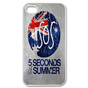 Custom High Quality WUCHAOGUI Phone case 5SOS music band Protective Case For Iphone 4 4S case cover - Case-20