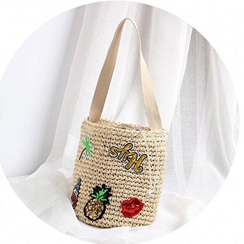 Knit Bandoulière Crossbody Été DYYTR Beach Tissé Lady Bag Sac Travel La À Mode À qzaAnpwR