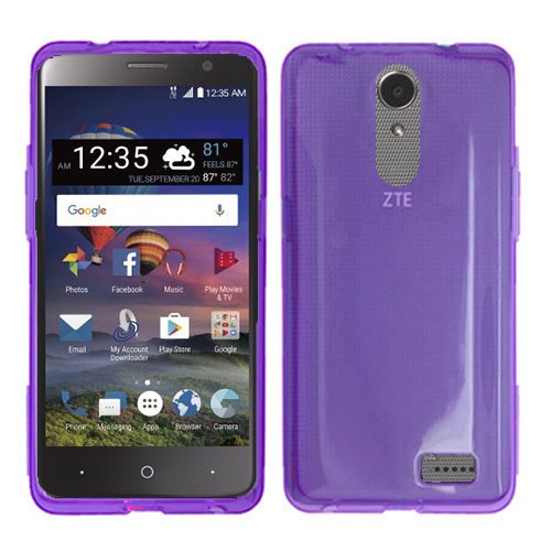 huge discount cce9b 85ad6 Phone Case for ZTE ZMAX One LTE Z719DL / ZTE Blade Spark 4G AT&T Prepaid  Smartphone, ZTE Grand X4 (Cricket Wireless) Case, Soft Flex Cover TPU Clear  ...
