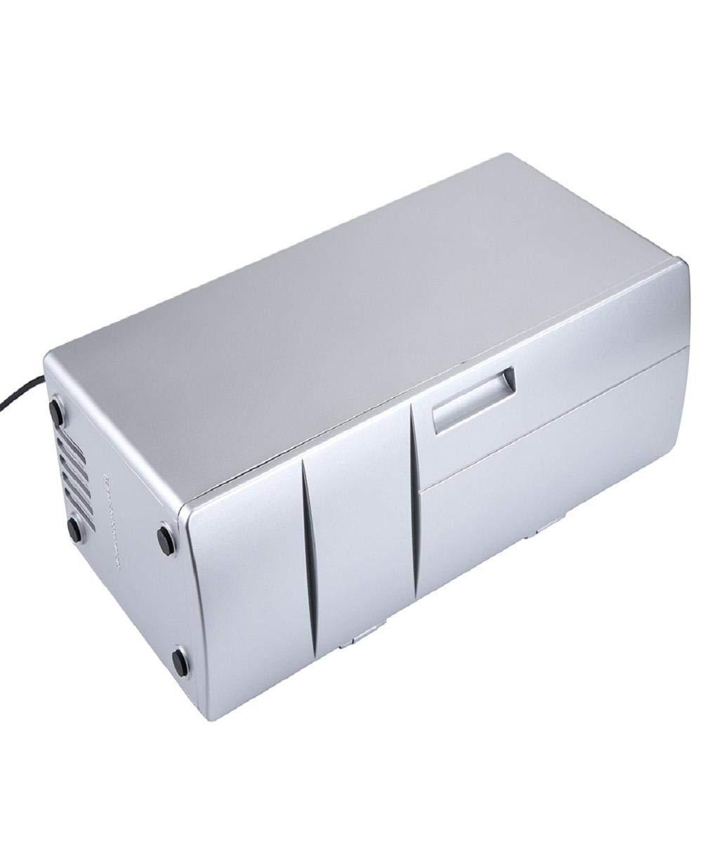 Vacally Mini Fridge Cooler Portable USB Desktop Mini Refrigerator Beverage Cooler Freezer Fridge Car Refrigerator for Indoor Outdoor Home Traveling and Camping