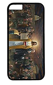 One Nation Under God PC Black Case for Masterpiece Limited Design iPhone 6 plus by Cases & Mousepads