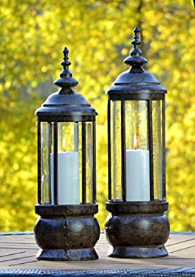 H Potter Decorative Candle Lantern Hurricane Candle Holder