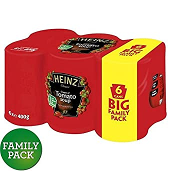 Heinz Tomatencremesuppe Familienpackung 6 X 400 G (Packung mit 6)
