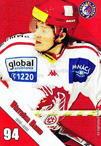 fan products of (CI) David Vsetecka Hockey Card 2005-06 Czech HC Ocelari Trinec Postcards 13 David Vsetecka