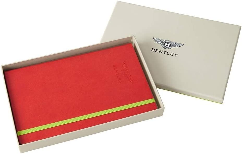 Bentley Motorsport Notizbuch A5 Präsentationsbox Rot 2019 Bürobedarf Schreibwaren