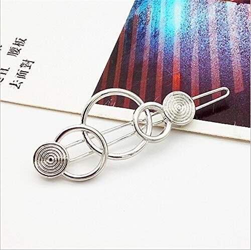 Fashion Geometry Hairpins Snap Clips Pin Barrette Accessories For Hair Women Girls Hairclip Headdress Headwear 35