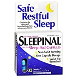 Sleepinal Sleep-Aid Capsules Maximum Strength, 32 ea (Pack of 18)