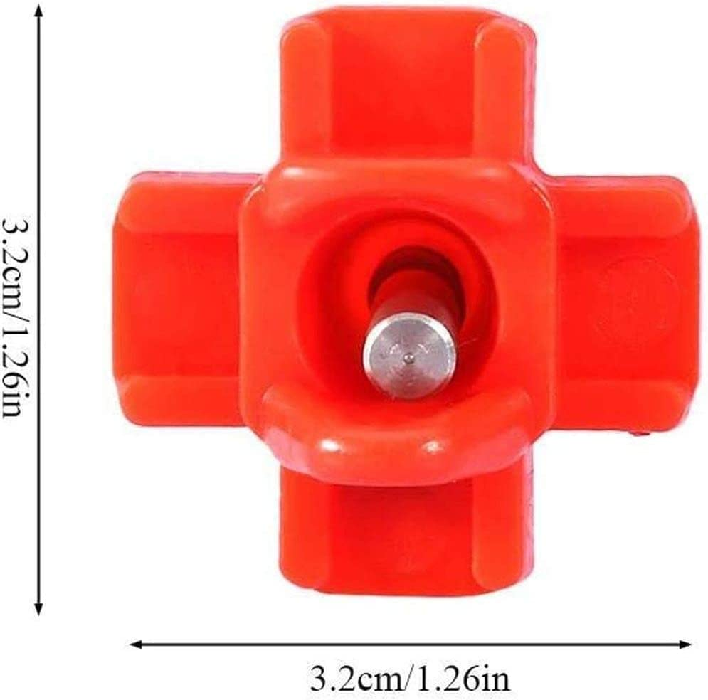 Adusa Tee Fittings for Threaded Poultry Nipples Chicken Waterer?10 Pack Tee Fittings for 1//2 Schedule 40 Plastic Piping with 1//8 FTP Threads