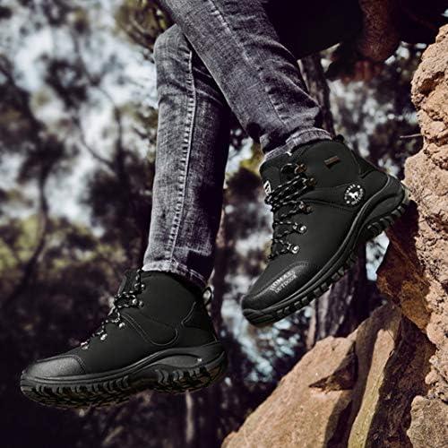 トレッキングシューズ メンズ ハイキングシューズ 防水 登山靴 アウトドアシューズ キャンプシューズ 防滑 ハイキング 靴 軽量 大きいサイズ 24.0cm-28.0cm 男性用 滑り止め ウォーキングシューズ