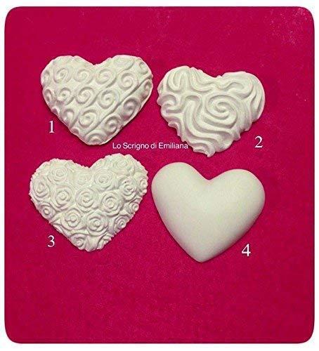 10 gessetti profumati cuore