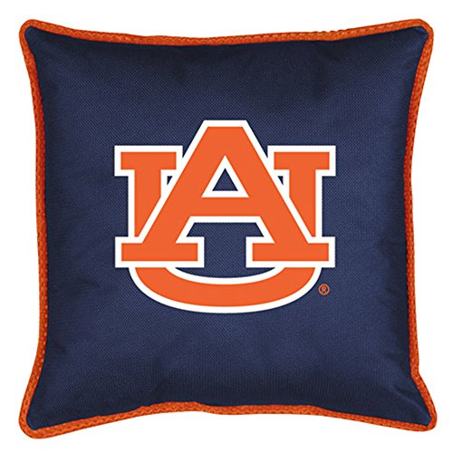 Auburn Tigers Throw Pillow - Sports Coverage NCAA Auburn Tigers Sideline Pillow