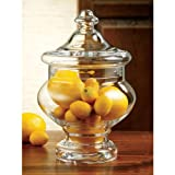 Home Essentials Terra Collection Egyptian Glass Jar