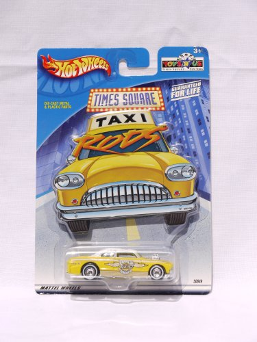 Hot Wheels Toys R Us Times Square Taxi Rod No. 6 (2001)