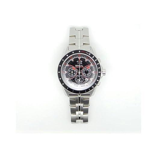 Breil Reloj Cronógrafo para Hombre de Cuarzo con Correa en Acero Inoxidable TW1249: Amazon.es: Relojes