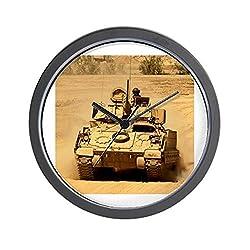 CafePress - M2A2 Bradley Fighting Vehicle Wall Clock - Unique Decorative 10 Wall Clock