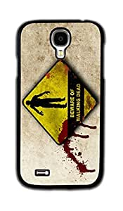 Tomhousomick Custom Design The Walking Dead Case for Samsung Galaxy S4 Phone Case Cover #131