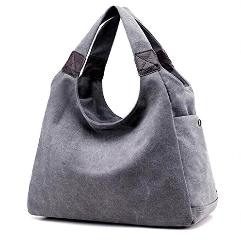Vintage Style TM KISS Model Simple blue Totes Canvas Women's GOLD Bag Hobo B U4ZUqFXa
