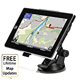 HighSound GPS Navigation for Car, 7 inches 8GB Lifetime Map Update Spoken Turn-to-turn Navigation System for Cars, Vehicle GPS Navigator