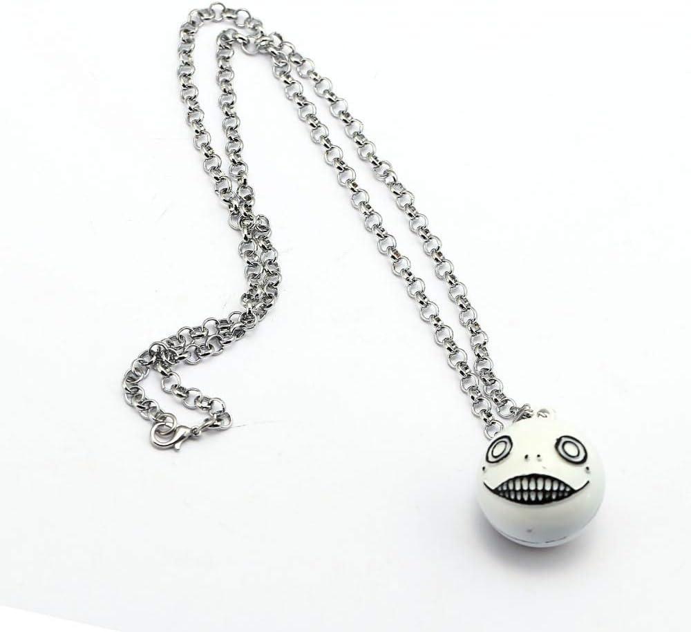 Anime NieR Automata Black Box Necklace Metal Pendant YoRHa 9S No.2 Type B Gifts