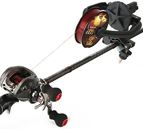 Fishing Line Spooler,Fishing Reel Winder Baitcaster,Reel Line Winder Machine