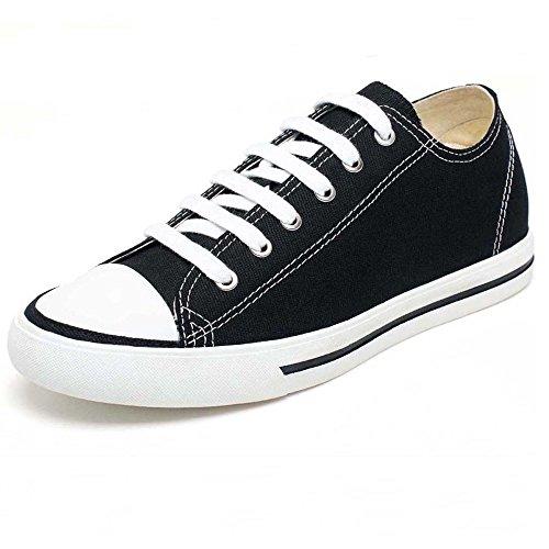 Hommes Chamaripa Donnent Des Chaussures En Daim Baskets De Skate - 7,5 Cm K70m83-1 Black03