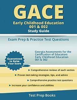 gace early childhood education 001 002 teacher certification test rh amazon com gace test prep early childhood education gace early childhood education 001 002 study guide