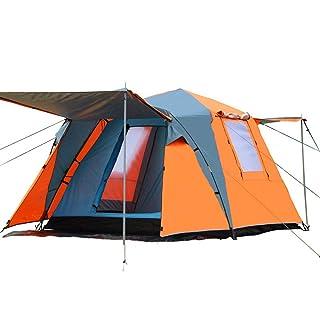 Tenda, Tenda Automatica all'aperto 3-4 Persone Tenda da Campeggio per più Persone Tenda Quadrata - Attrezzature per Esterni
