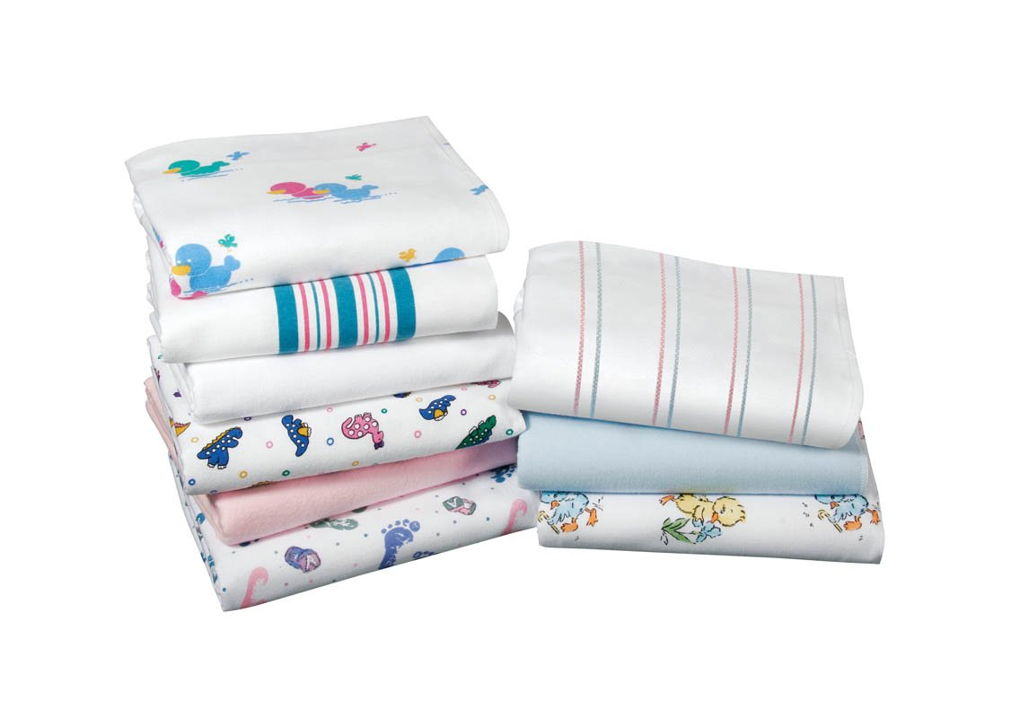 Kuddle-Up Baby Blankets (4Pk), 36'X40', Duck print