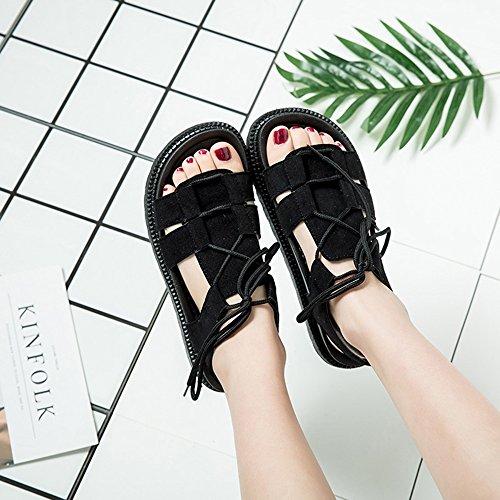 Strap Tamaño B 5 B Flat CN37 Color Playa 5 Amazing Sandalias UK4 Roman Strap Casual EU37 Shoes Summer 6Pfqnvtwp